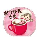 ナチュラルガール♥【年中OK/お祝い言葉】(個別スタンプ:3)