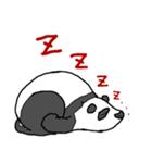 ぐだぐだパンダ(個別スタンプ:01)