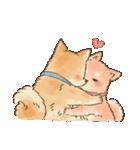 可愛い柴犬の日常スタンプ2(個別スタンプ:01)