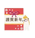 仕掛けアニメ▶誕生日とお正月年賀状(個別スタンプ:01)