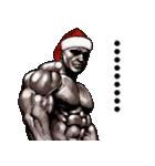 筋肉マッチョマッスル・クリスマス爆弾 5(個別スタンプ:36)