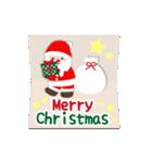 ▶️大人の感謝を添えたクリスマスカード(個別スタンプ:08)