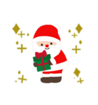 ▶️大人の感謝を添えたクリスマスカード(個別スタンプ:21)