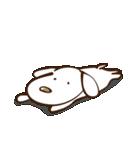 白いぬデザイン☆ゆる敬語(個別スタンプ:25)