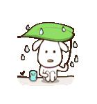 白いぬデザイン☆ゆる敬語(個別スタンプ:38)