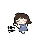 """""""ウンジョンちゃん""""専用の韓国名前スタンプ(個別スタンプ:15)"""