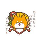 動く!もふ柴~冬~(個別スタンプ:14)
