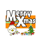 P~吉 冬の生活!クリスマス 新年の挨拶(個別スタンプ:03)