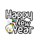 P~吉 冬の生活!クリスマス 新年の挨拶(個別スタンプ:36)