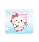 ぱんにゃの動く♥冬の日常スタンプ(個別スタンプ:06)