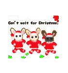 楽しいクリスマスそして、幸せなクリスマス(個別スタンプ:1)