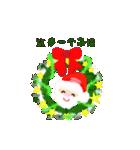 楽しいクリスマスそして、幸せなクリスマス(個別スタンプ:7)