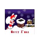 楽しいクリスマスそして、幸せなクリスマス(個別スタンプ:9)