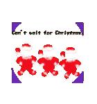 楽しいクリスマスそして、幸せなクリスマス(個別スタンプ:14)