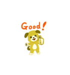 子犬がご挨拶(個別スタンプ:7)