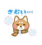 ☆2018年☆正月柴犬スタンプ(個別スタンプ:08)