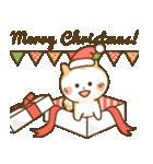 犬の年賀状(年末年始,お正月,クリスマス)(個別スタンプ:9)
