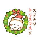 犬の年賀状(年末年始,お正月,クリスマス)(個別スタンプ:10)