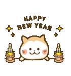 犬の年賀状(年末年始,お正月,クリスマス)(個別スタンプ:17)