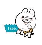 Milk sticker of the mini-pig(個別スタンプ:03)