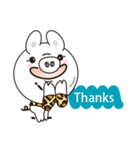 Milk sticker of the mini-pig(個別スタンプ:04)