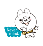 Milk sticker of the mini-pig(個別スタンプ:10)