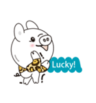 Milk sticker of the mini-pig(個別スタンプ:13)