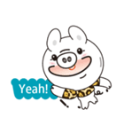 Milk sticker of the mini-pig(個別スタンプ:21)