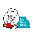 Milk sticker of the mini-pig(個別スタンプ:26)
