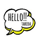 【TAKEDA】専用スタンプ(個別スタンプ:01)
