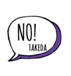 【TAKEDA】専用スタンプ(個別スタンプ:03)