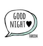 【TAKEDA】専用スタンプ(個別スタンプ:05)