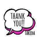 【TAKEDA】専用スタンプ(個別スタンプ:06)