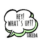 【TAKEDA】専用スタンプ(個別スタンプ:27)