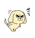 目ヂカラ☆わんこ4(個別スタンプ:20)