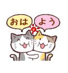 毎日おはよう猫(個別スタンプ:05)