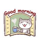 毎日おはよう猫(個別スタンプ:25)
