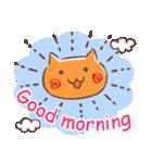 毎日おはよう猫(個別スタンプ:31)