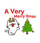 丸マコト : クリスマス&ニューイヤー(個別スタンプ:08)
