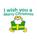 丸マコト : クリスマス&ニューイヤー(個別スタンプ:09)