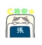 張さん専用のスタンプ(中文繁体字版)(個別スタンプ:08)