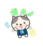 張さん専用のスタンプ(中文繁体字版)(個別スタンプ:13)