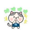 張さん専用のスタンプ(中文繁体字版)(個別スタンプ:17)