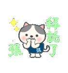張さん専用のスタンプ(中文繁体字版)(個別スタンプ:33)