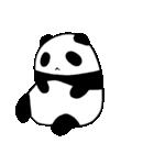 パンダと白いハムスター1(個別スタンプ:27)