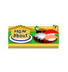 Sushi Bravo! <English Ver.>(個別スタンプ:05)