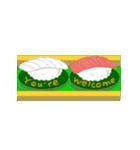 Sushi Bravo! <English Ver.>(個別スタンプ:08)