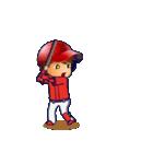 動く!野球チームと応援団9(個別スタンプ:2)