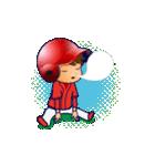 動く!野球チームと応援団9(個別スタンプ:12)