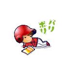 動く!野球チームと応援団9(個別スタンプ:14)